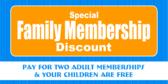 family membership discount