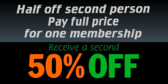 Half Off Second Person