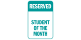 Reserved Student of the Month