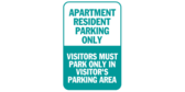 Apartment Resident Parking Only