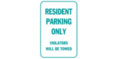 Resident Parking Violator Warning