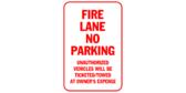 Fire Lane, No Parking