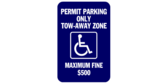 Permit Parking Only, Tow Away Zone