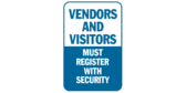 Vendors and Visitors Must Register