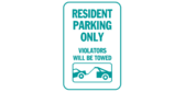 Resident Parking Towing Icon