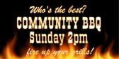 Community BBQ Contest