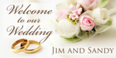 wedding yard sign template