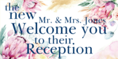 Welcome You To Their Reception