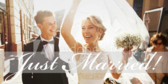 Just Married Wording