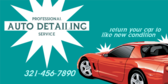 Auto Detailing Get Your Car Like New