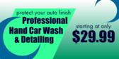Auto Detailing and Car Wash Protect Your Finish
