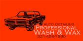 Professional Wash and Wax Deal