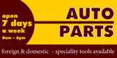 Auto Parks Store Foreign Domestic Speciality