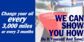 DIY Oil Change and Save