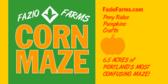 Corn Maze (Fazio Farms)