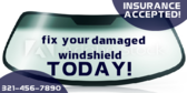Fix Your Damaged WIndshield Today