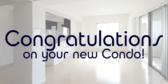 Congratulations On Your New Condo