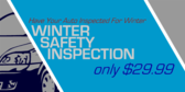 Winter Safety Car Inspection