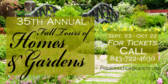 Fall Tours of Homes and Gardens