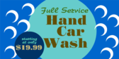 Hand Car Wash For a Price