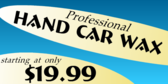 Professional Car Wash for Price