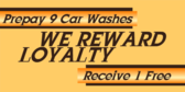 Prepay Car Washes and Save