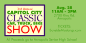 Capitol City Classic Car Truck Bike Show