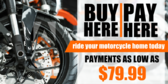 Motorcycle Buy Here Pay Here