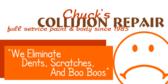 Collision Repair We Eliminate Boo Boos