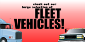 Check Out Our Fleet Vehicles
