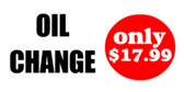 Oil Change Deal