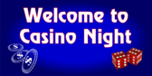 Welcome To Casino Night