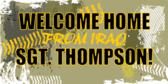 Welcome Home from Iraq