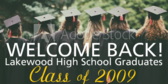 Welcome Class reunion Sign