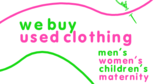 We Buy Used Clothing