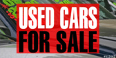 used car sale with warantee