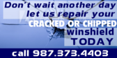 Don't Wait Repair Windshield Today