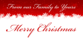 Our Family To Yours Merry Christmas