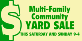 Multi Family Community Yard Sale
