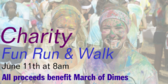 Charity Fun Run Walks