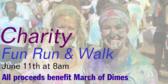 Charity Fun Run Walks