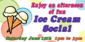 Enjoy Ice Cream Social