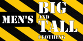 Men's Big and Tall Clothing