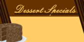 Dessert Specials With Insert Area