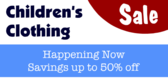 Childrens Clothing sale now