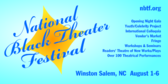 National Black Theater Festival