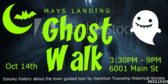 Mays Landing Ghost Walk