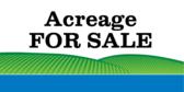 Acreage For Sale Landscape