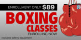 Boxing Classes Enrolling Now