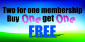 Two For One Membership